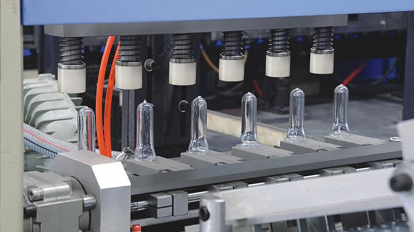 Применение упаковочной бутылки из ПЭТ